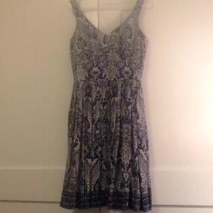 Talbots petite silk dress